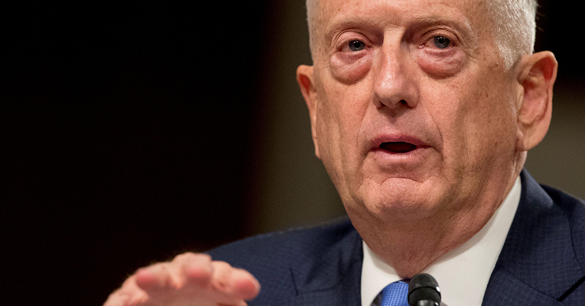 In speech, Mattis explains his cyber concerns