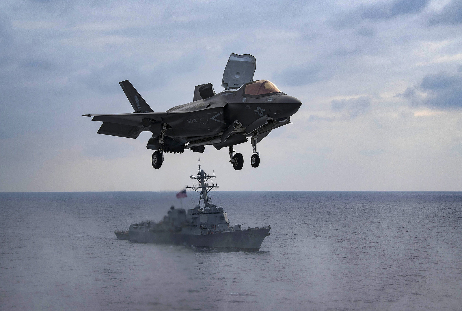 The Corps has lost its first F-35