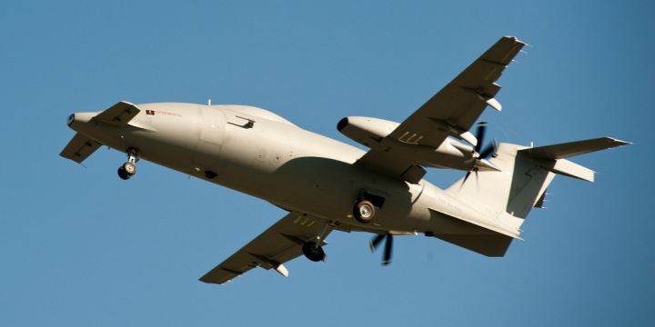 Back on track: Testing of Piaggio Hammerhead drones resumes a year after crash