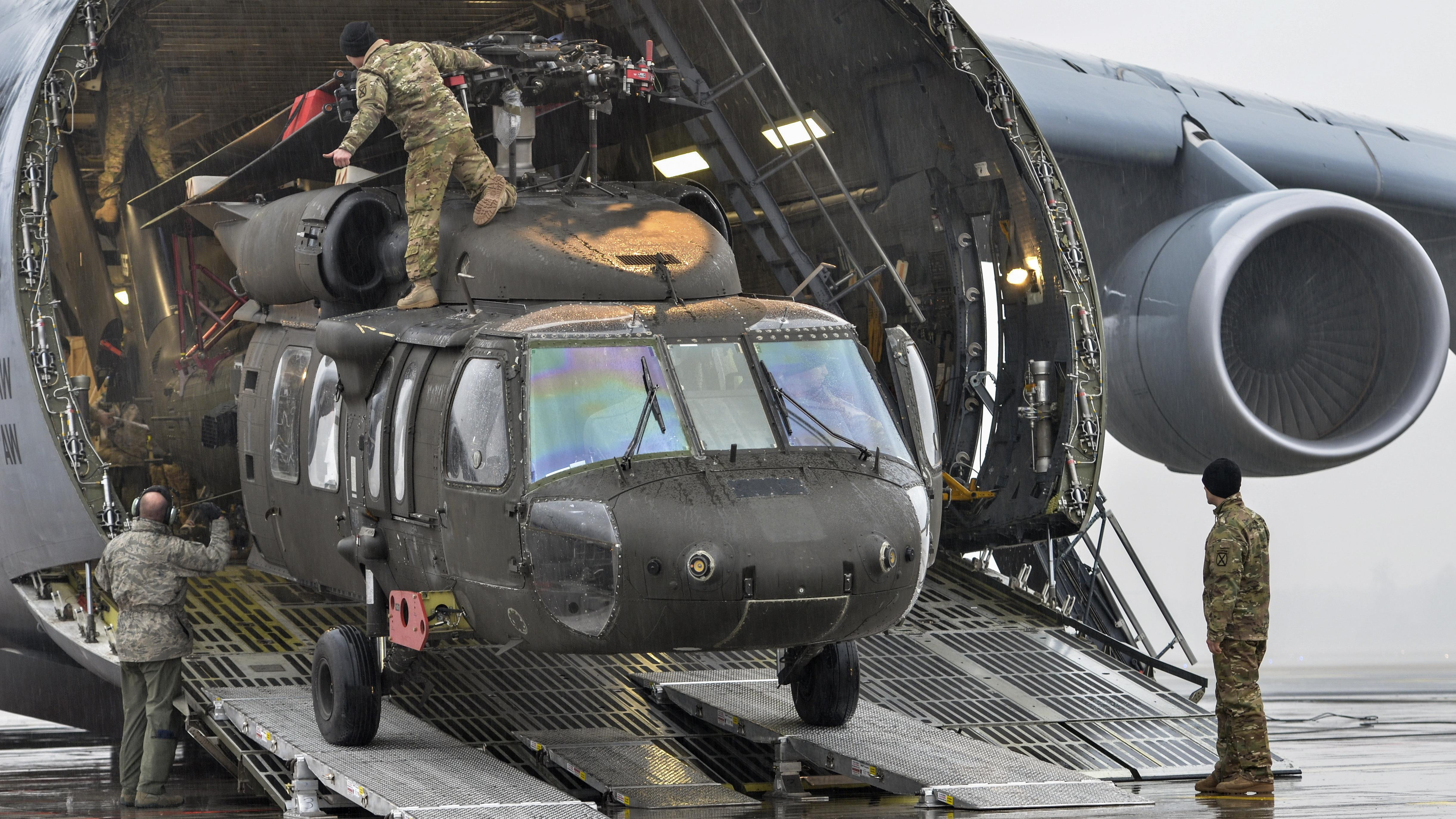 US to provide Afghanistan with up to 159 Black Hawks to help break 'stalemate'