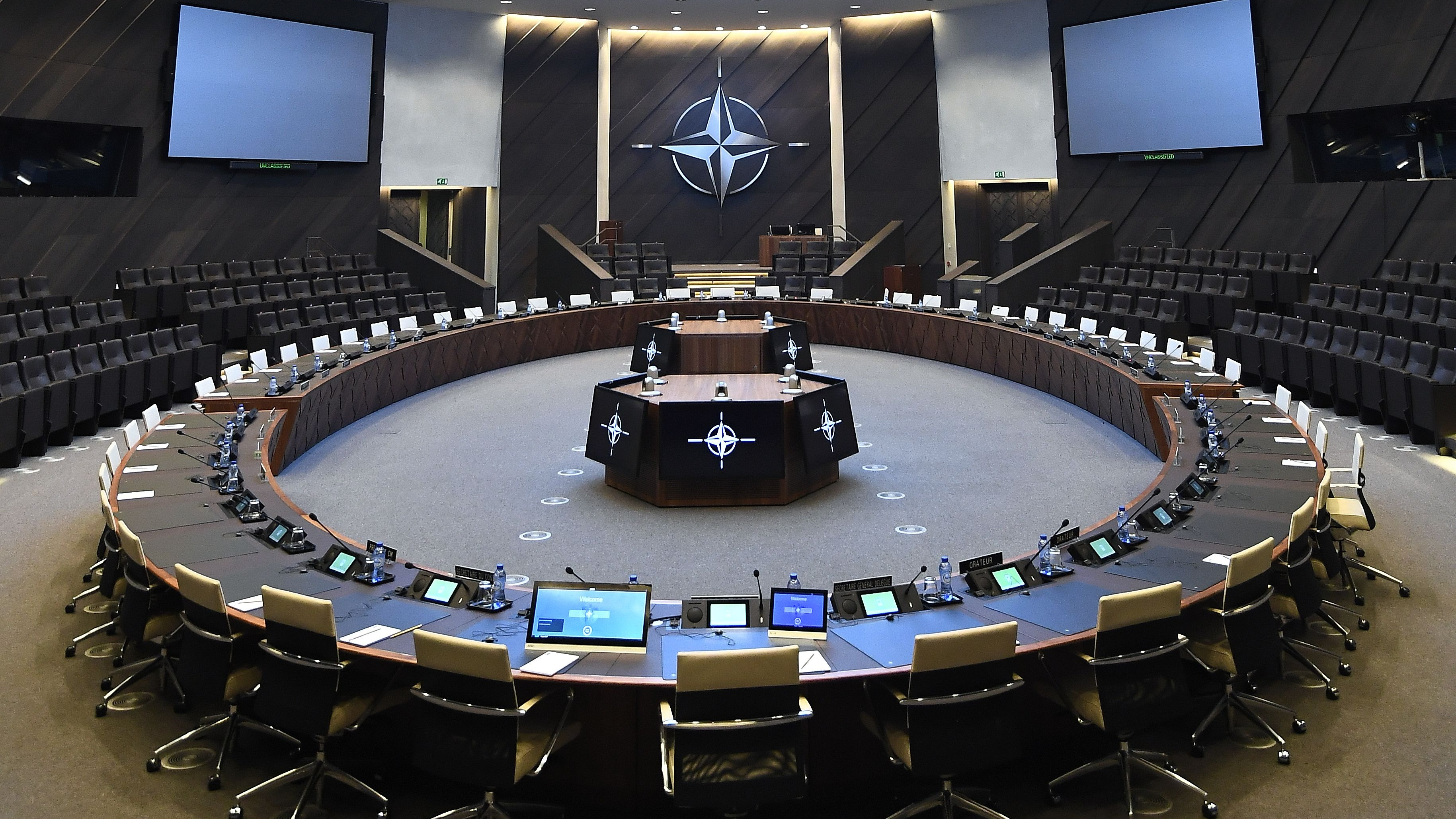 A distinguished fellow at the Atlantic Council considers what international life might be like without NATO. (Emmanuel Dunand/AFP via Getty Images)