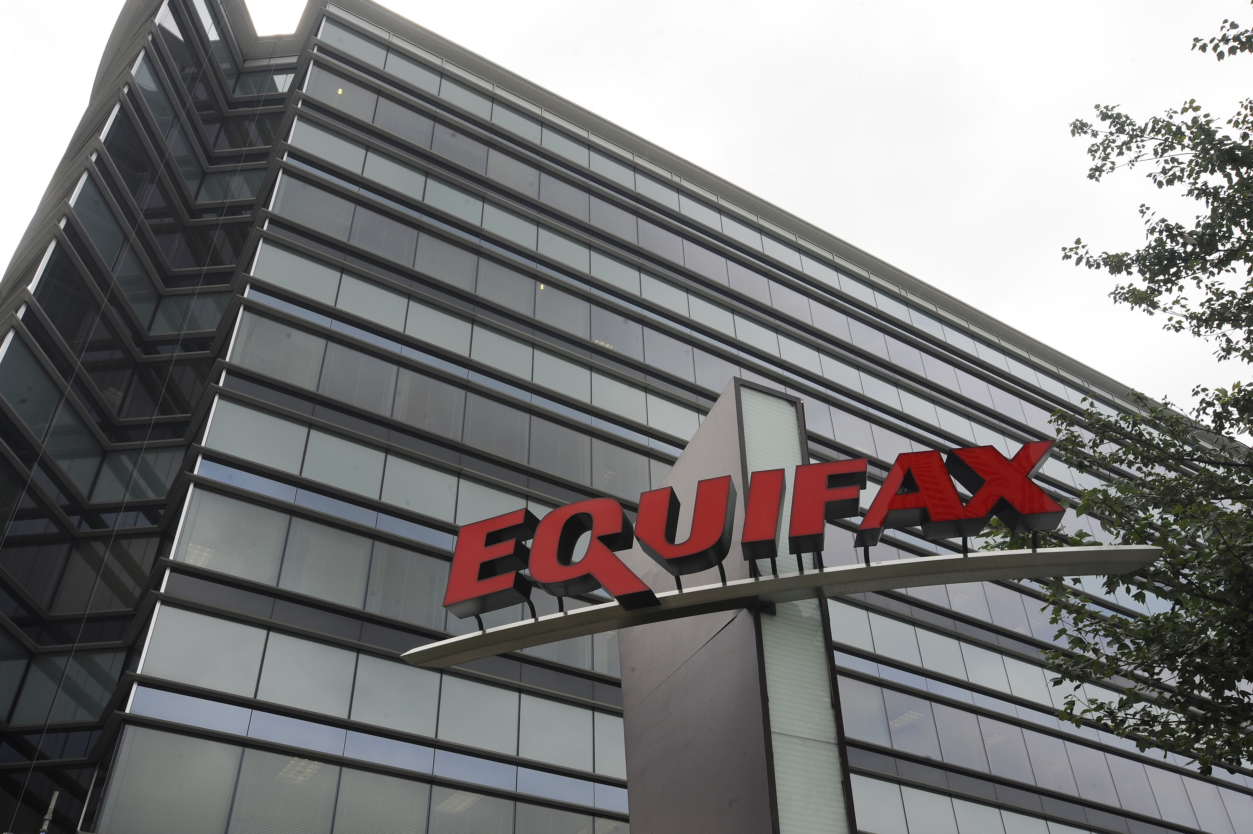 This July 21, 2012, photo shows Equifax Inc., offices in Atlanta. (Mike Stewart/AP)