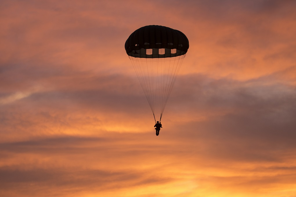 US military parachute part lands by school in Japan