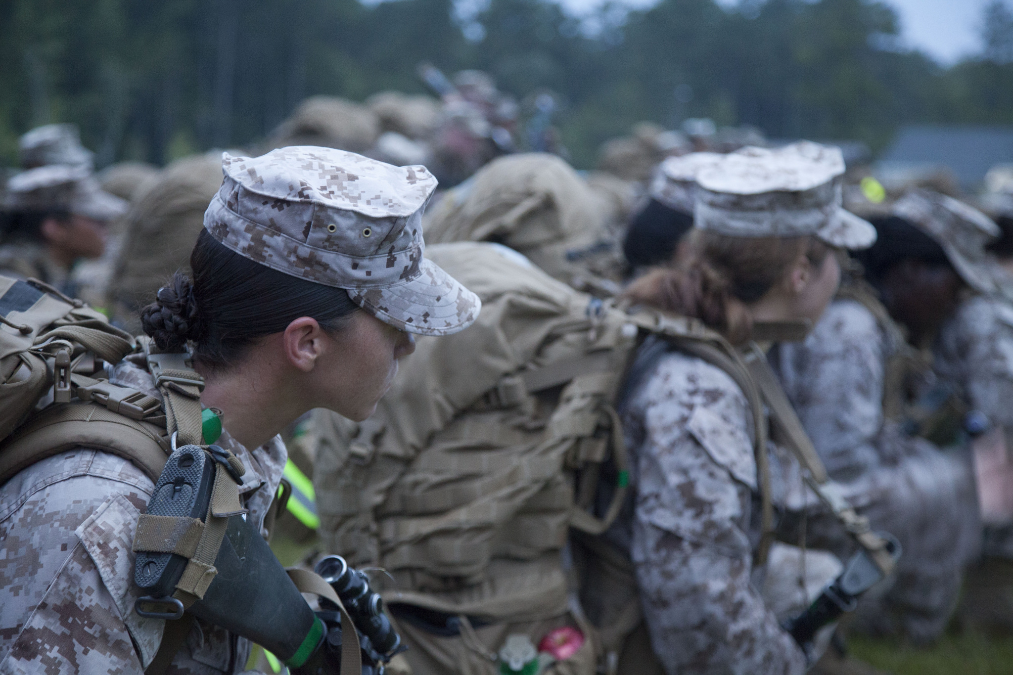first female infantry marines joining battalion on thursday