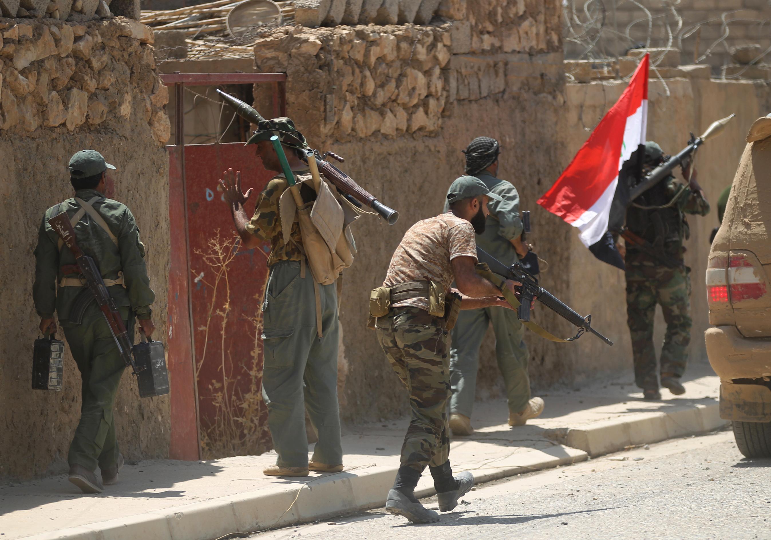 Commander: US-led assault in Iraq 'incidentally' benefits Iran-backed militias