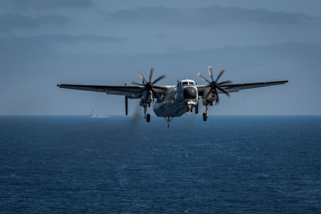 Navy calls off search efforts for three sailors missing after Wednesday's C-2 'Greyhound' crash in the Pacific Ocean. (Mass Communication Specialist 3rd Class Alex Corona)