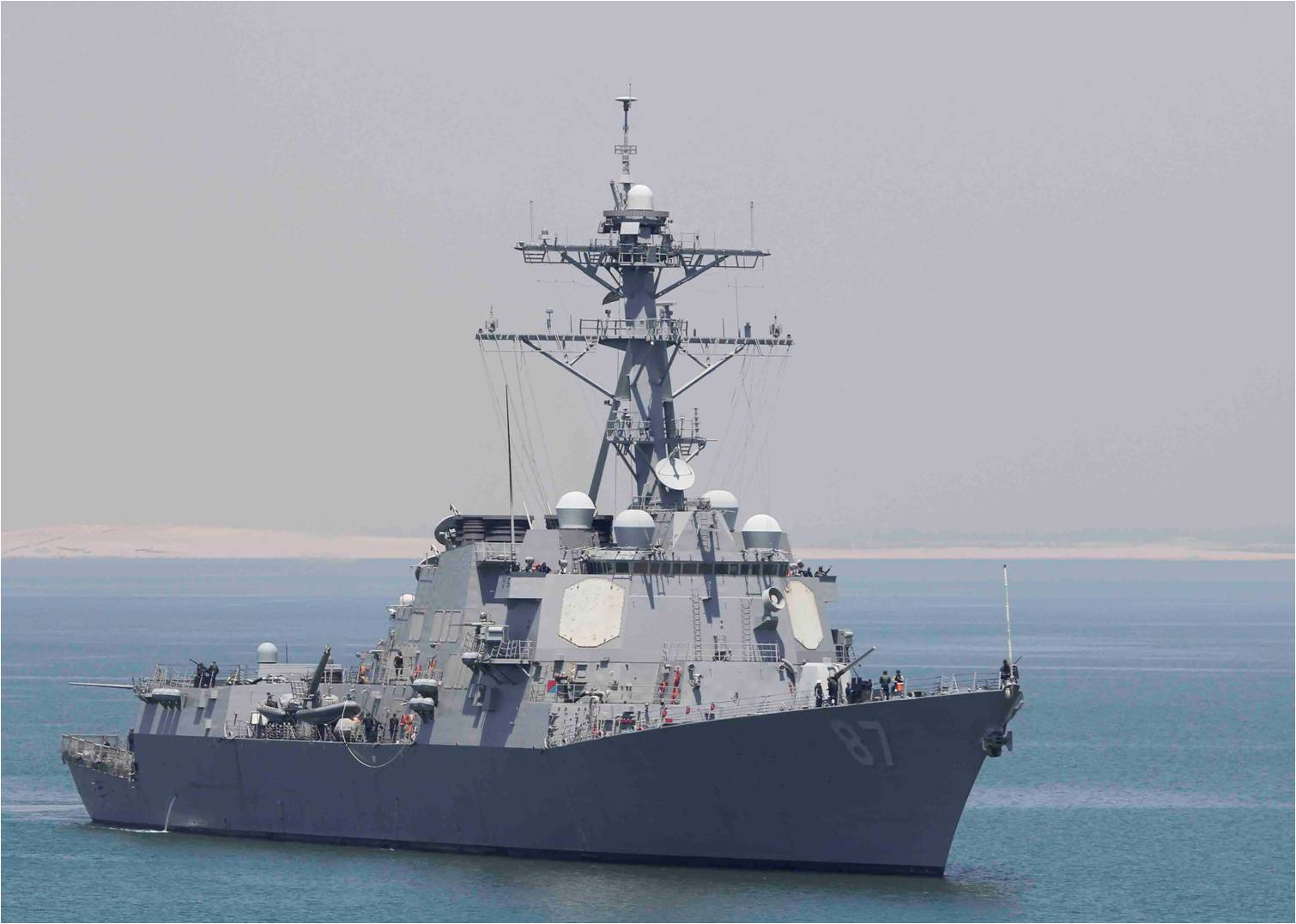 U.S. ship targeted in 3rd cruise missile attack off Yemen