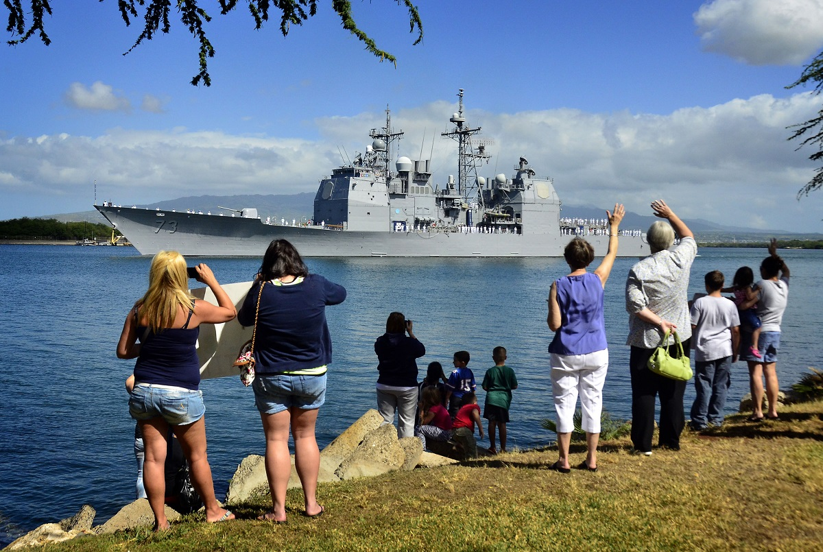 An inside look at the Navy's most homesick sailors