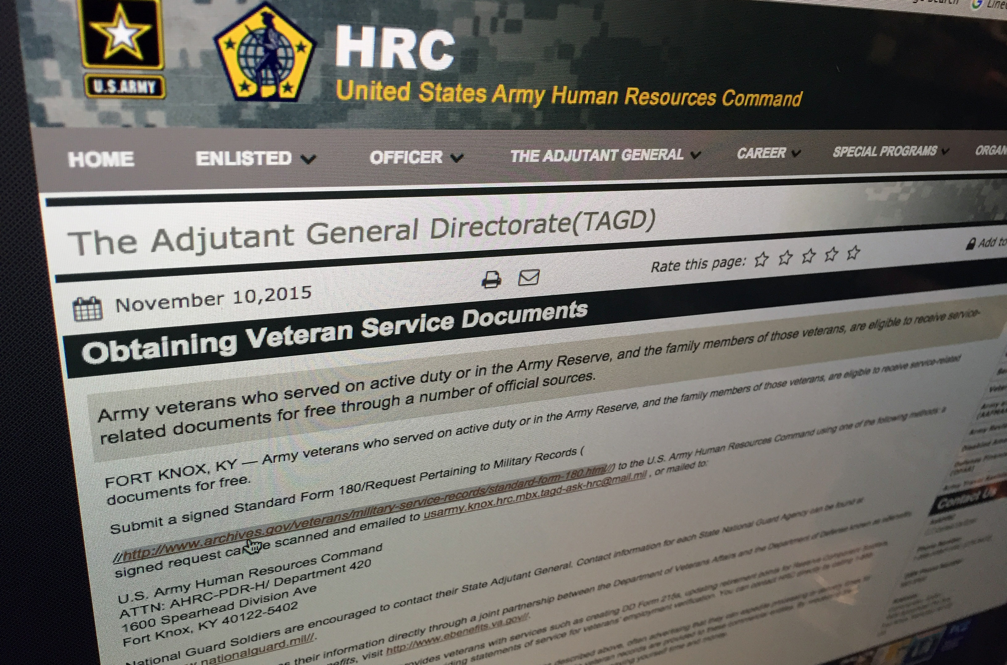 Heres how to replace military service records and awards xflitez Images