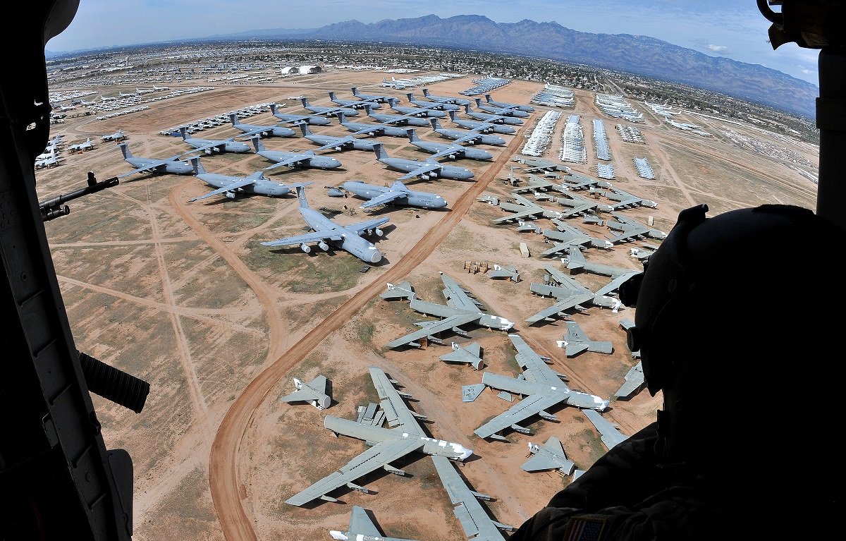 Air Force turns to the Boneyard to train thousands of new maintainers