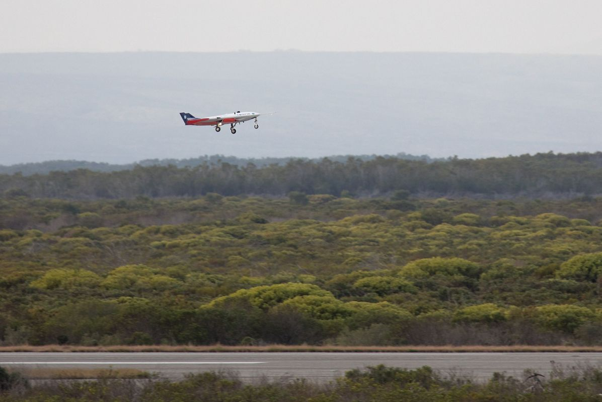 Airbus has unveiled an experimental jet-propelled drone with the project name SAGITTA . (Airbus)