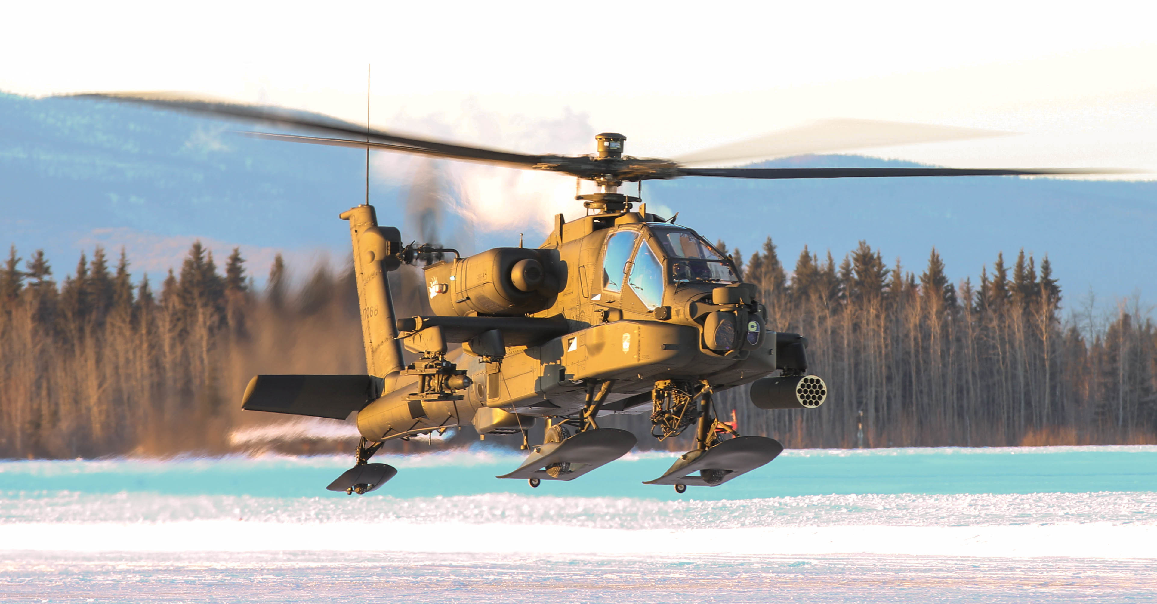 Army Apaches with skis: Attack helos get cold weather upgrades