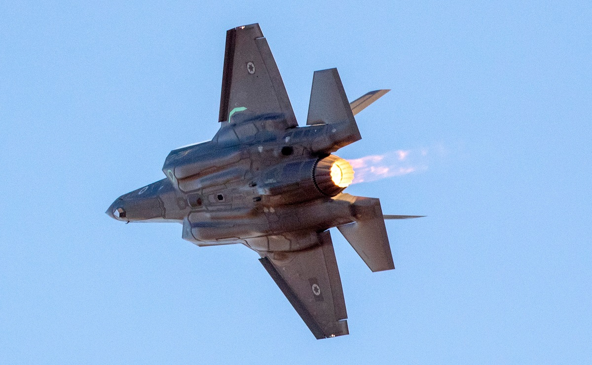 Syrian downing of F-16I begs question: Why didn't Israel deploy F-35s?