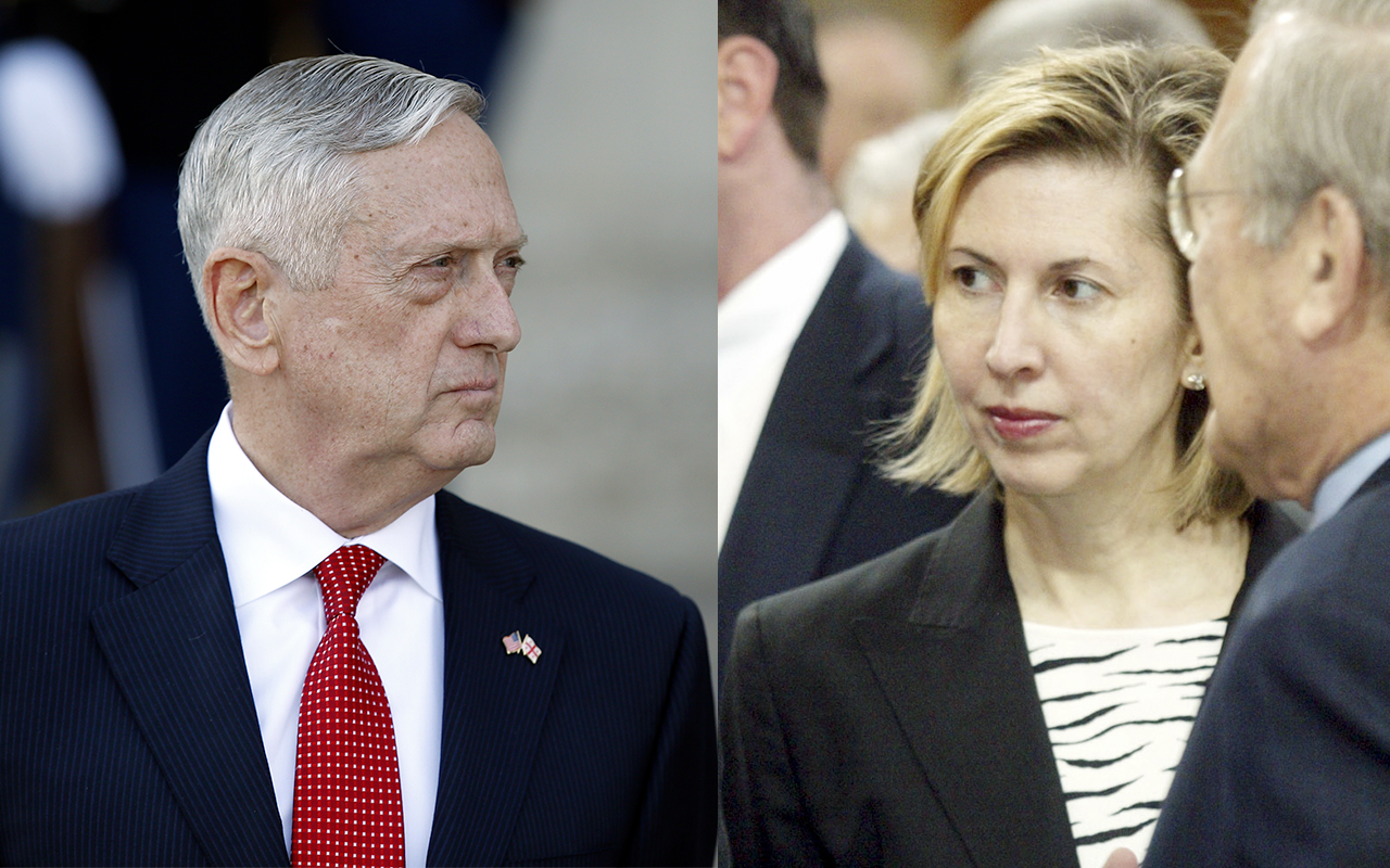 ast year, Defense News reported on tensions between Ricardel and Secretary of Defense Jim Mattis over personnel.
