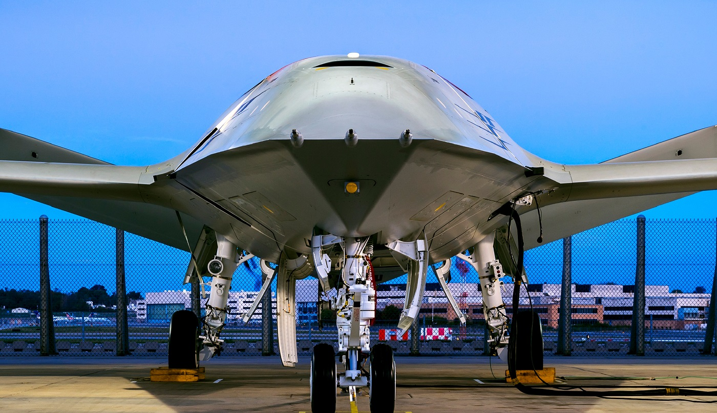 Boeing offers sneak peek of MQ-25 tanker drone