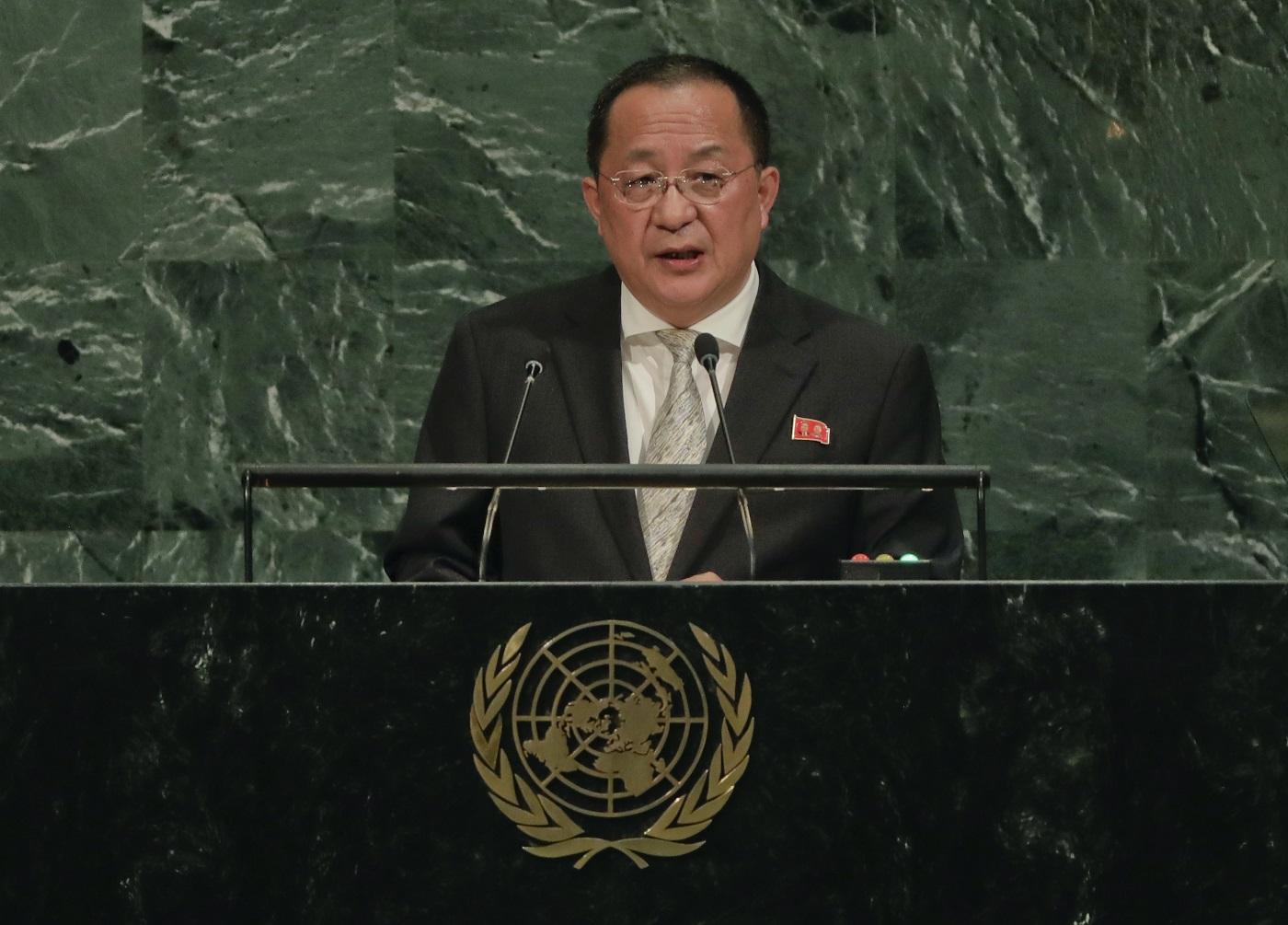 North Korea: Trump insult makes attack on US 'more inevitable'