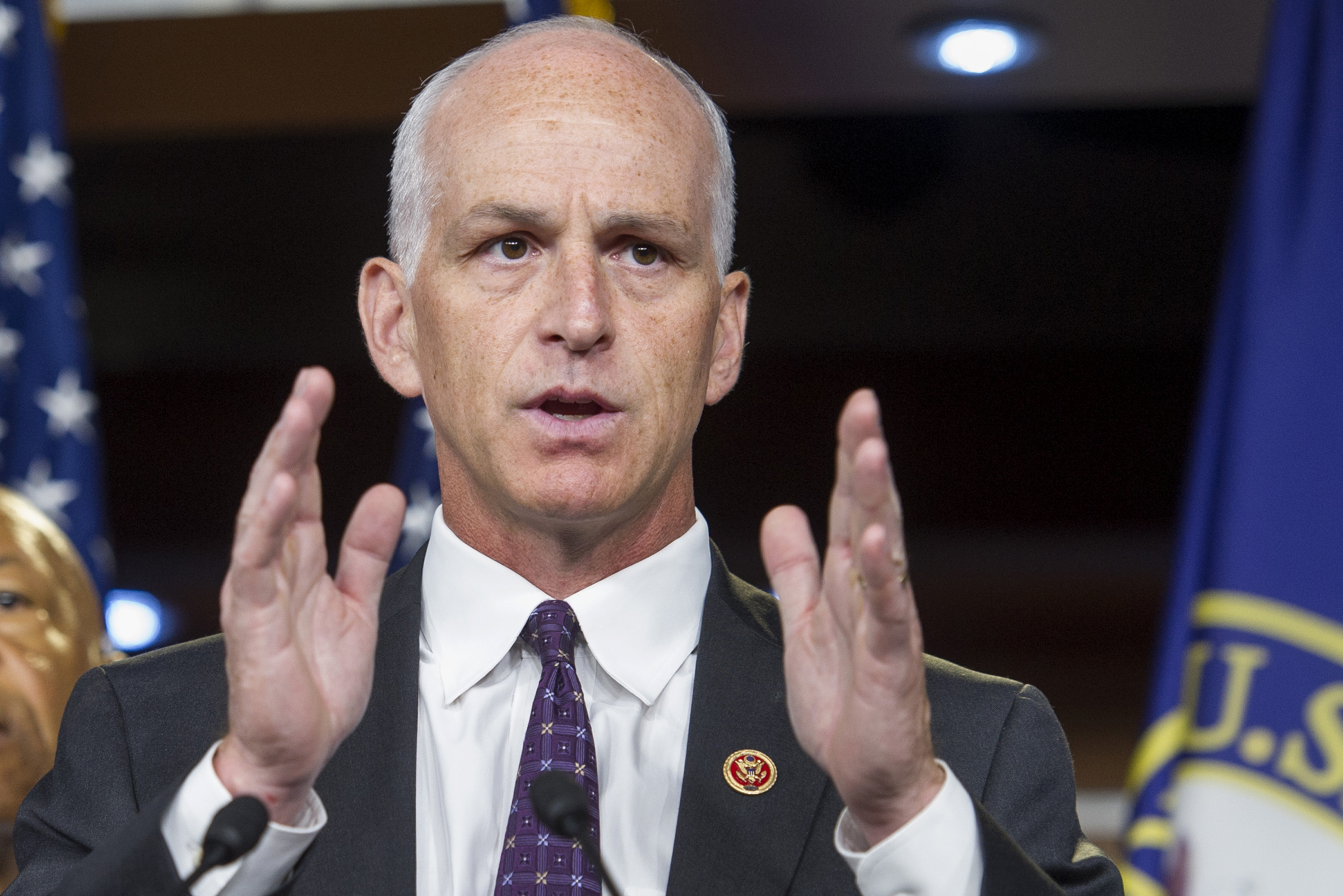 Expected incoming House Armed Services Committee Chairman Adam Smith, D-Wash., told reporters on Wednesday that he wants Congress to pass new protections for transgender troops and military recruits, but does not expect support on the issue from the Republican-controlled Senate. (Cliff Owen/AP)
