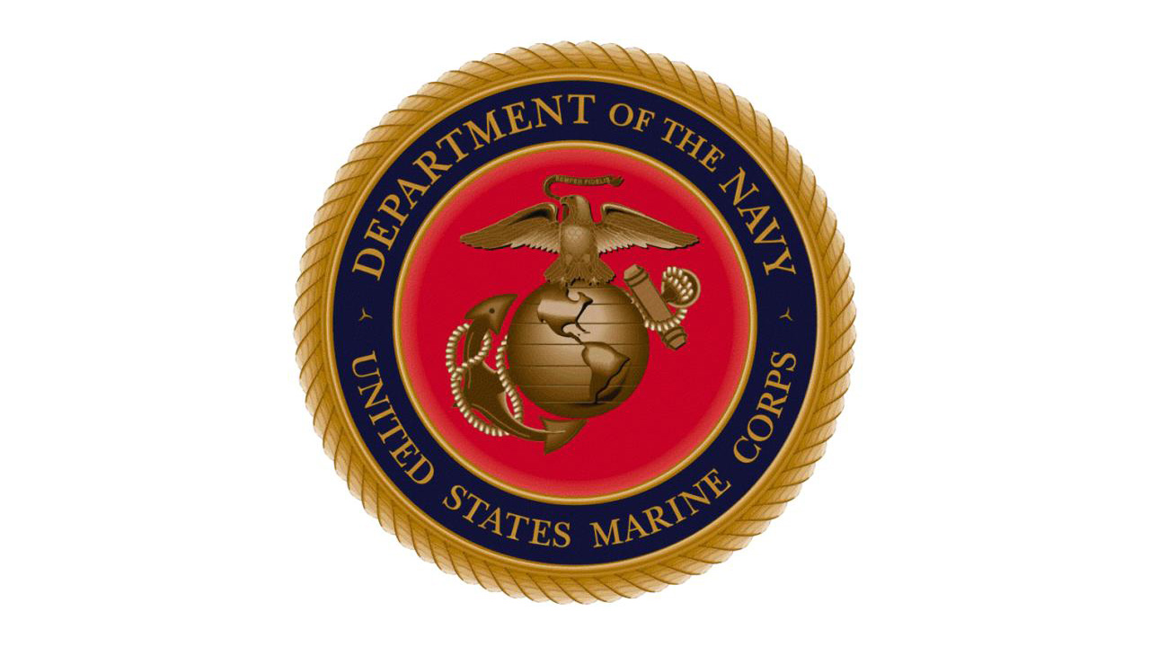 The Marine Corps seal. (USMC)