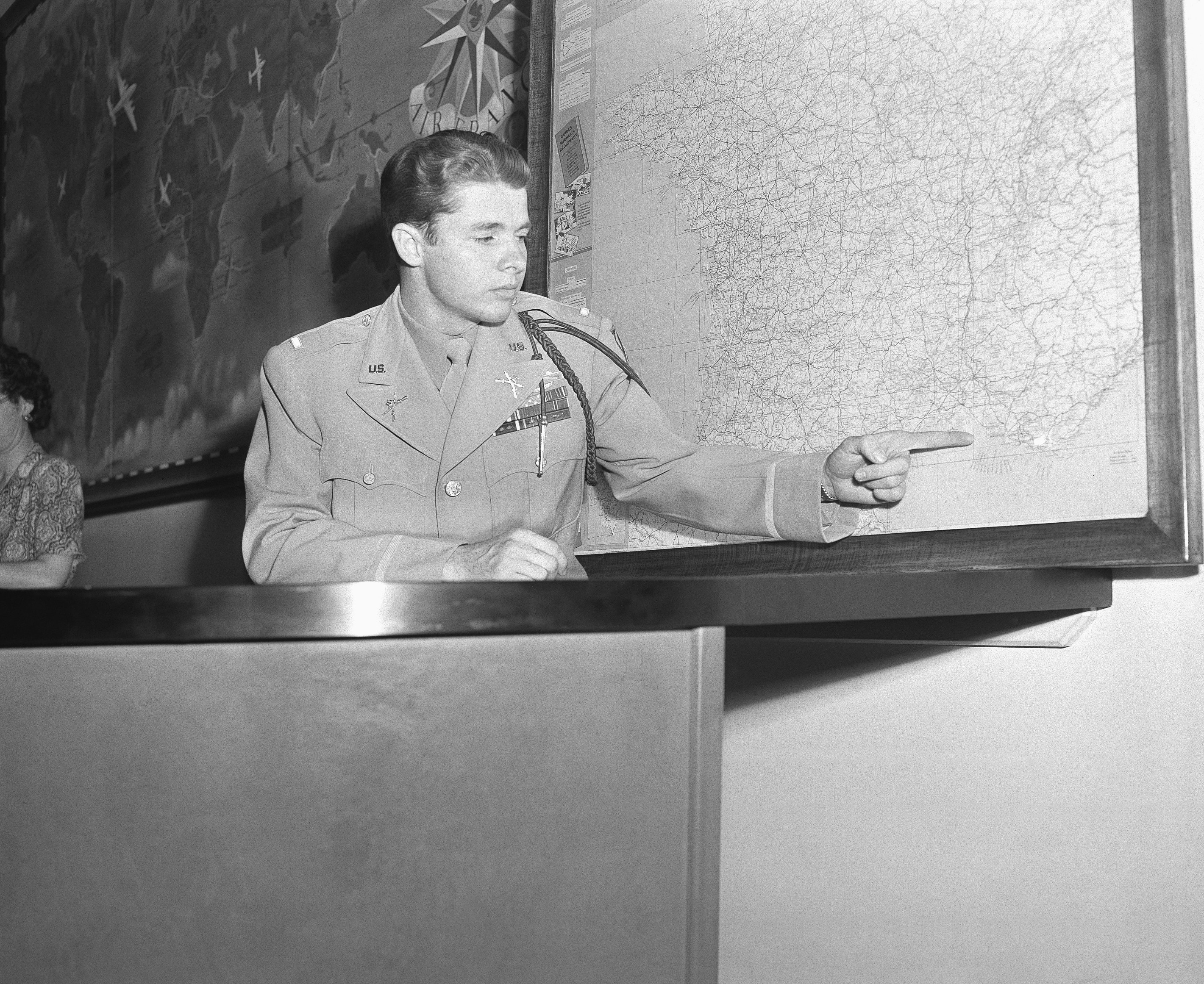 Today in history: Audie Murphy makes a one-man stand against German tanks, infantry in 1945