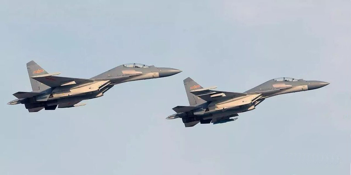 Images reveal China's J-16 jets stepping up introduction into service