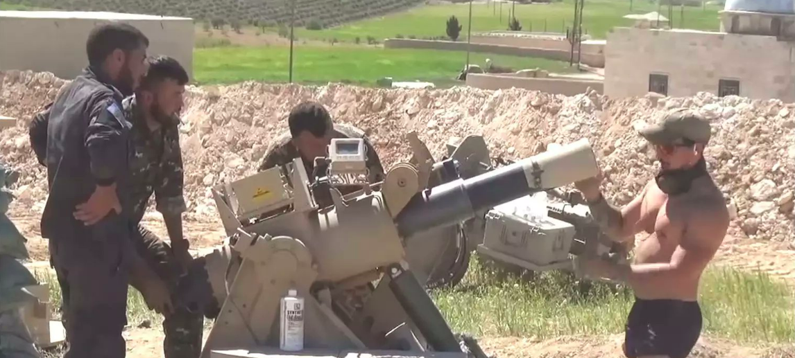 Check out the high-tech mortar system US forces set up in Manbij
