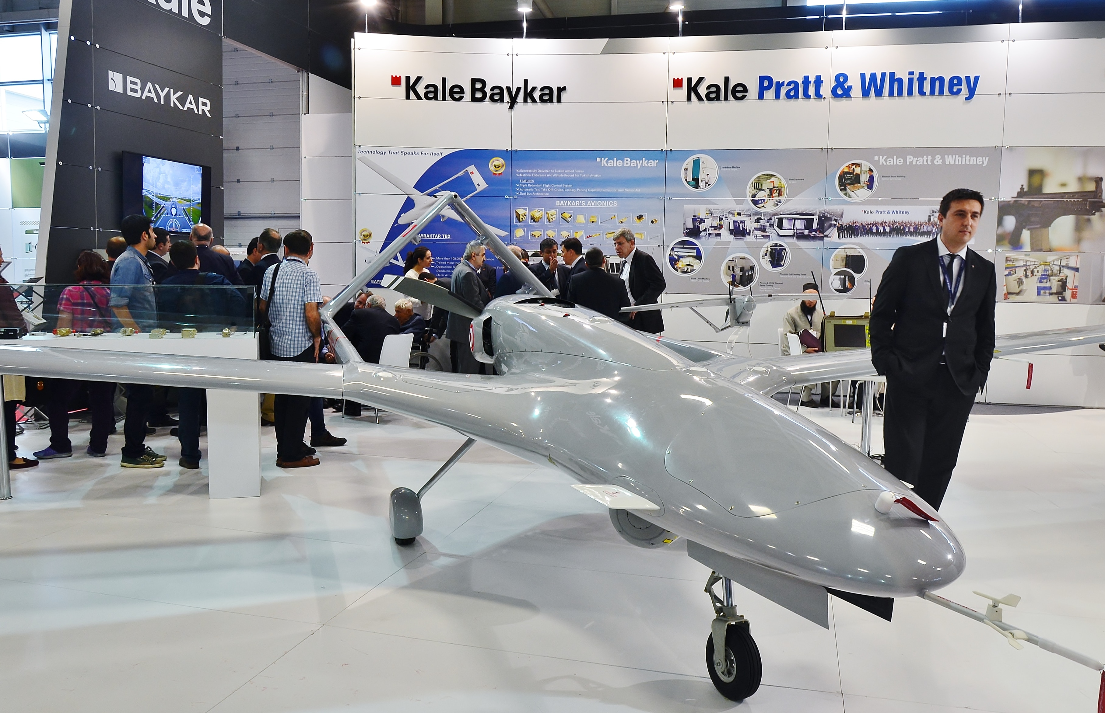 Turkey gets additional drones to fight ISIS, Kurds