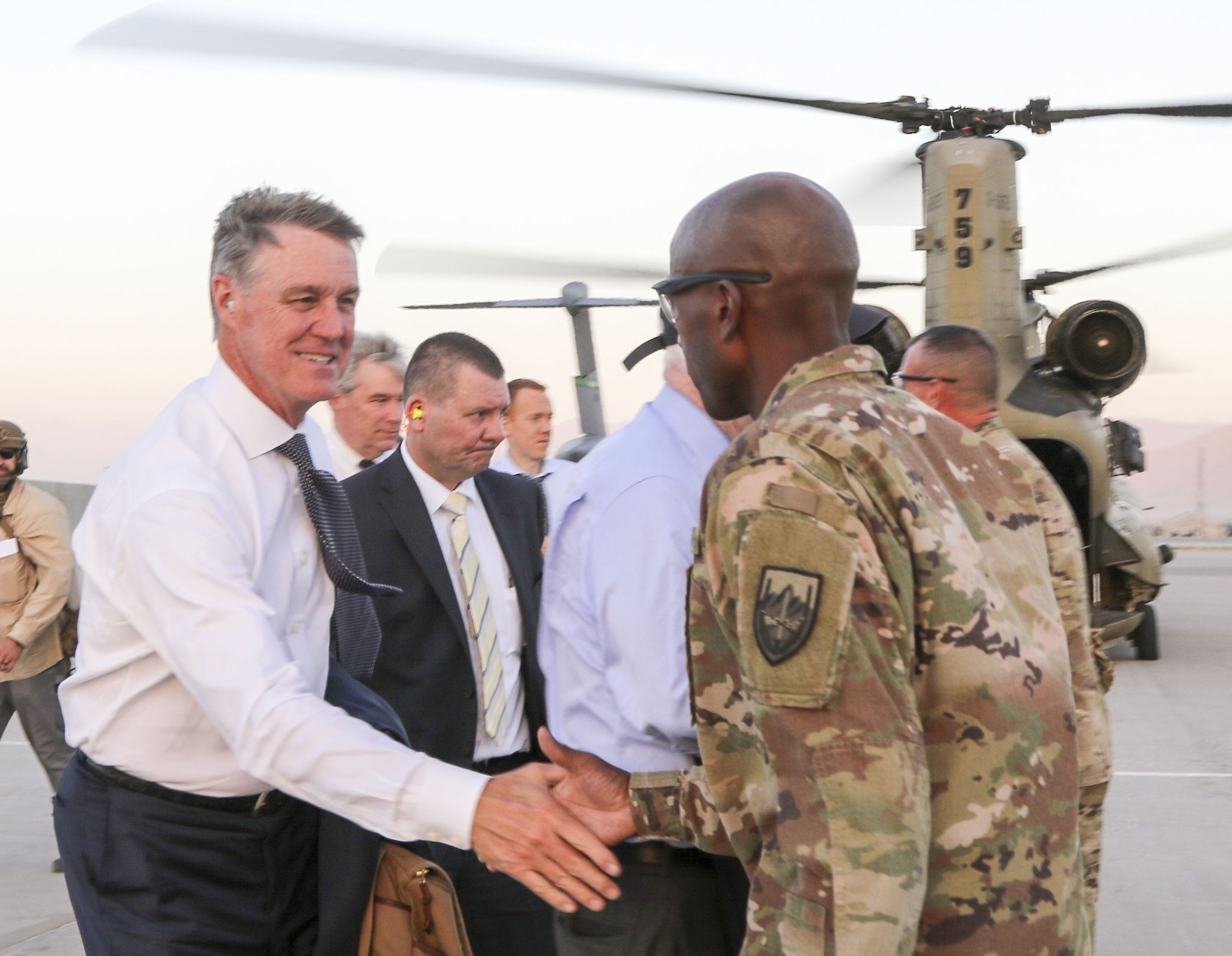 Sen. David Perdue, R-Ga., visited Afghanistan to meet with U.S. military leaders, diplomats, and Afghan political officials about the threat of terrorism and instability, and America's role in the region. (Sen. David Perdue)