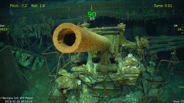 Expedition led by Microsoft co-founder locates lost WWII carrier
