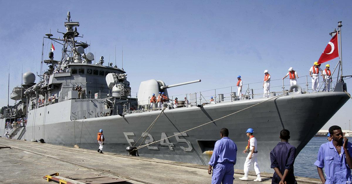 Turkish group to modernize Barbaros-class frigates