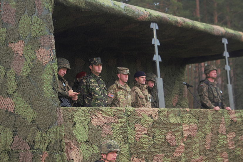 Poland, NATO troops hold drills amid security concerns
