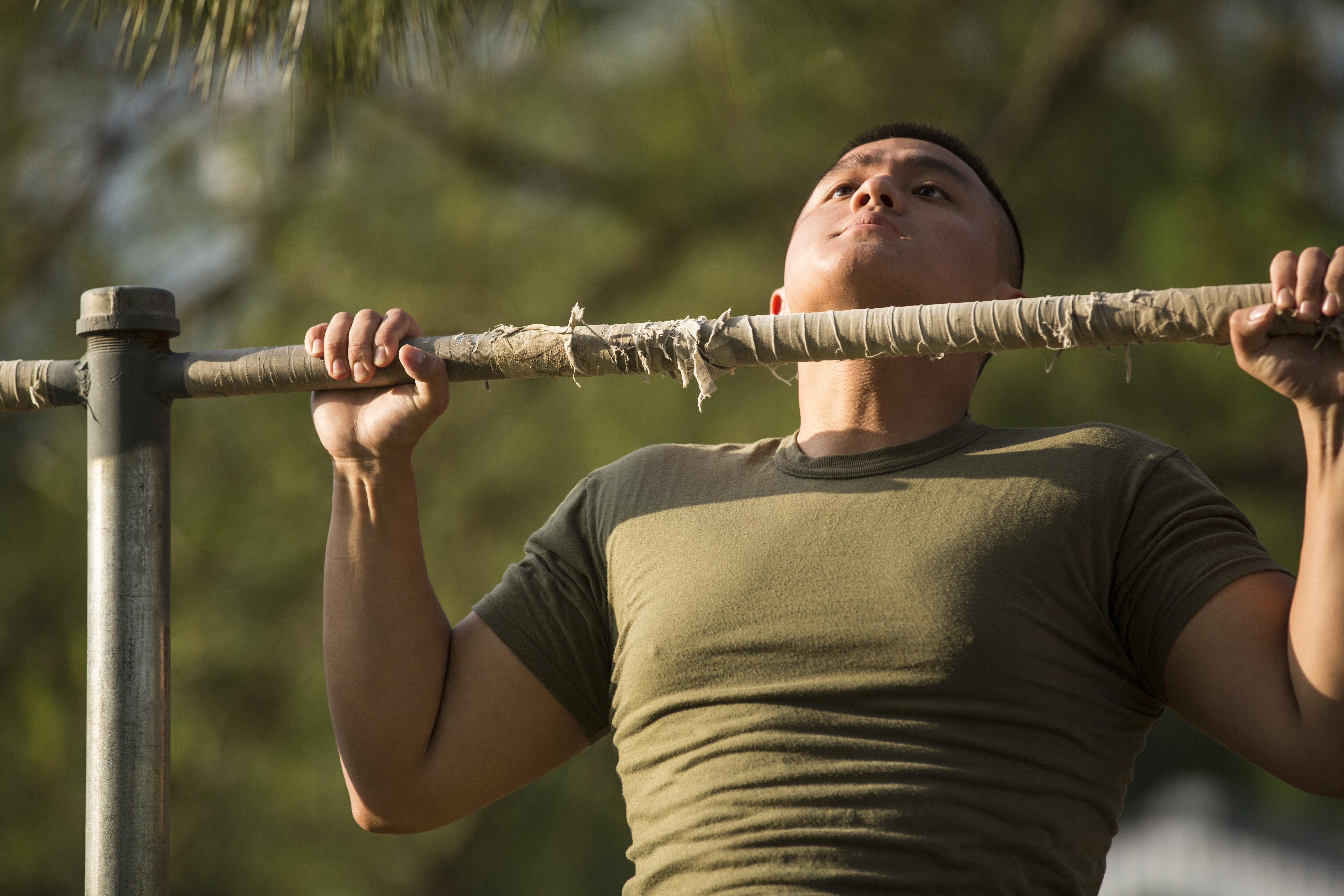 Marines roll out tougher initial strength test for poolees