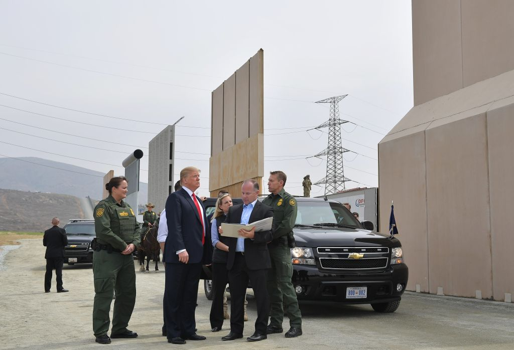 Trump says military troops will guard US-Mexico border