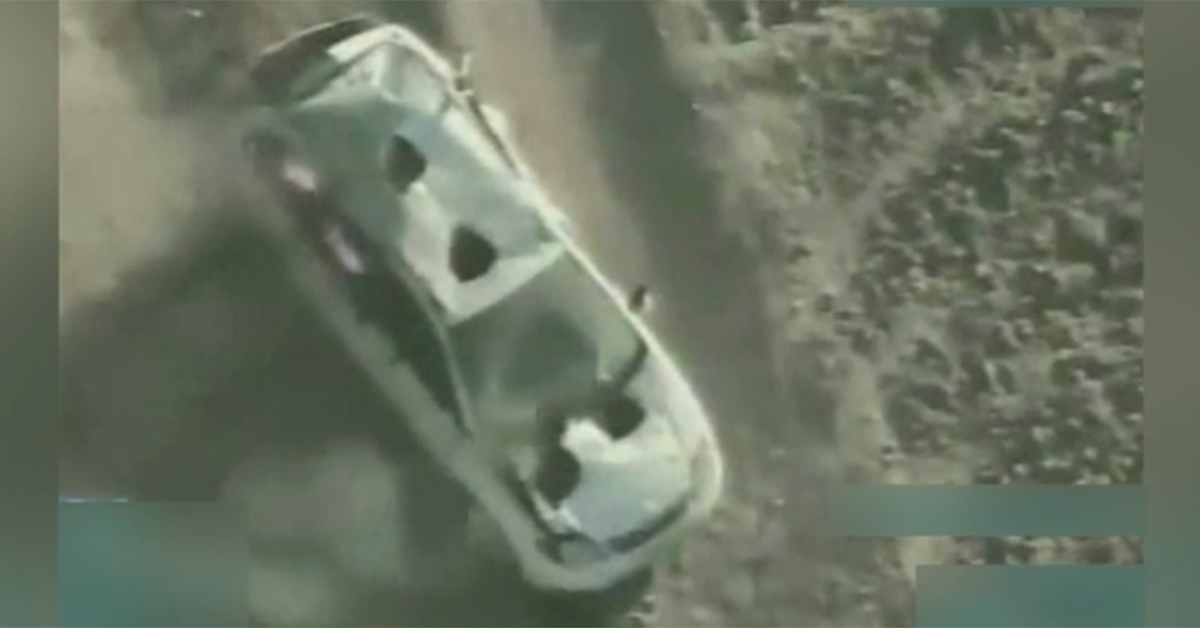 Here's what happens when an A-10 is around a Taliban vehicle