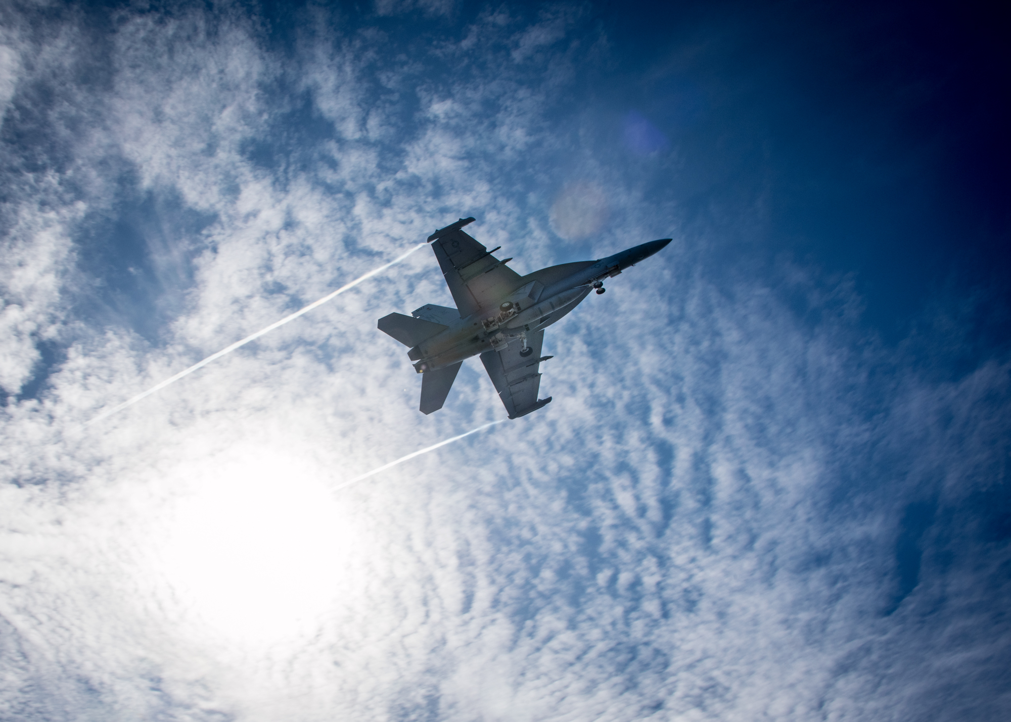 Flying blind and freezing: Navy investigating terrifying EA-18G Growler flight