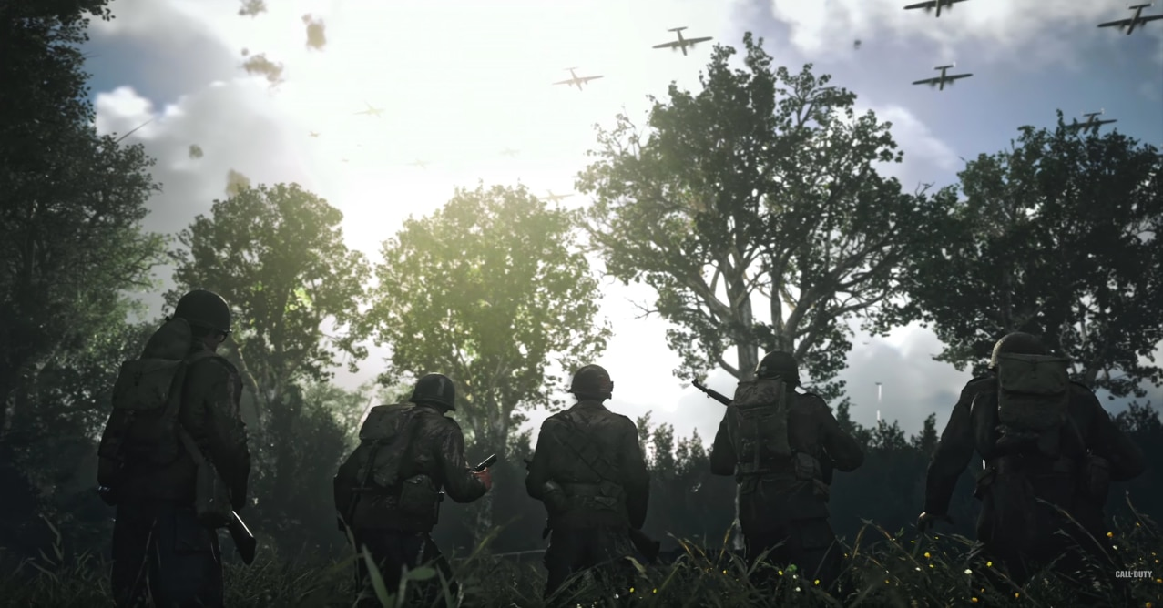 Next title in 'Call of Duty' series will return to its World War II roots ... and have zombie mode