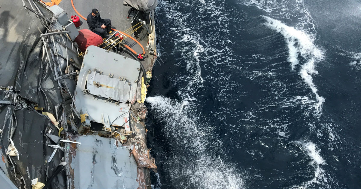 'The crew is still hurting': One year later, some Fitzgerald shipmates struggle to go forward