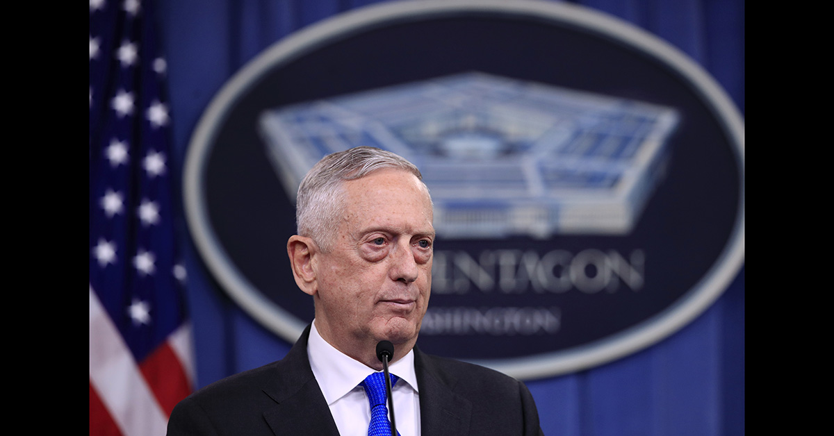 Former Secretary of Defense Jim Mattis is heading to California. (Manuel Balce Ceneta/AP)