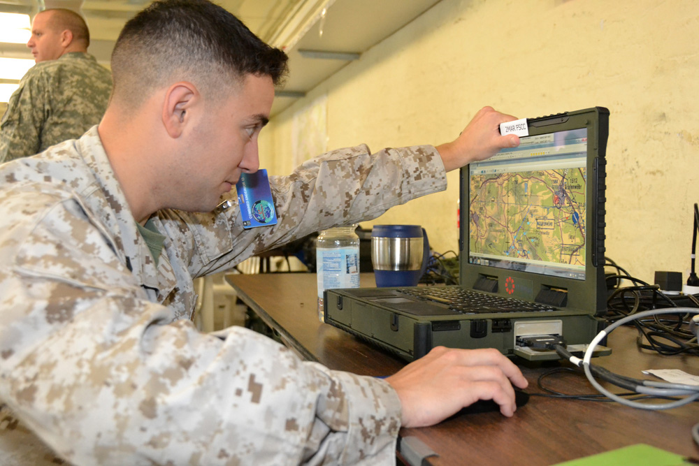 The Marine Corps activated the first of its new defensive cyber teams within the Marine Air Ground Task Force. (U.S. European Command)