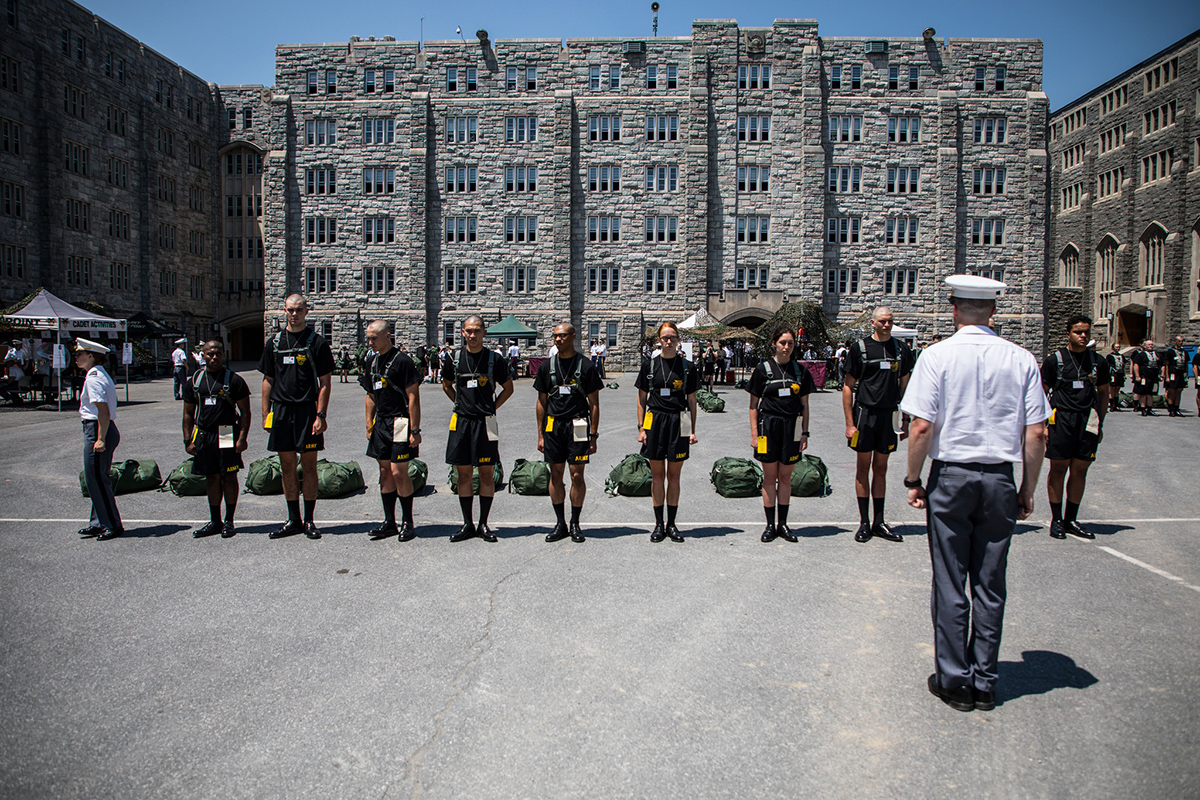 West Point welcomes new cadets with Class of 2023