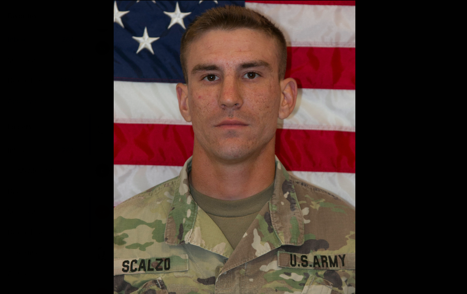Staff Sgt. Nicholas M. Scalzo died Oct. 21 at Camp Hovey in South Korea. (Army)