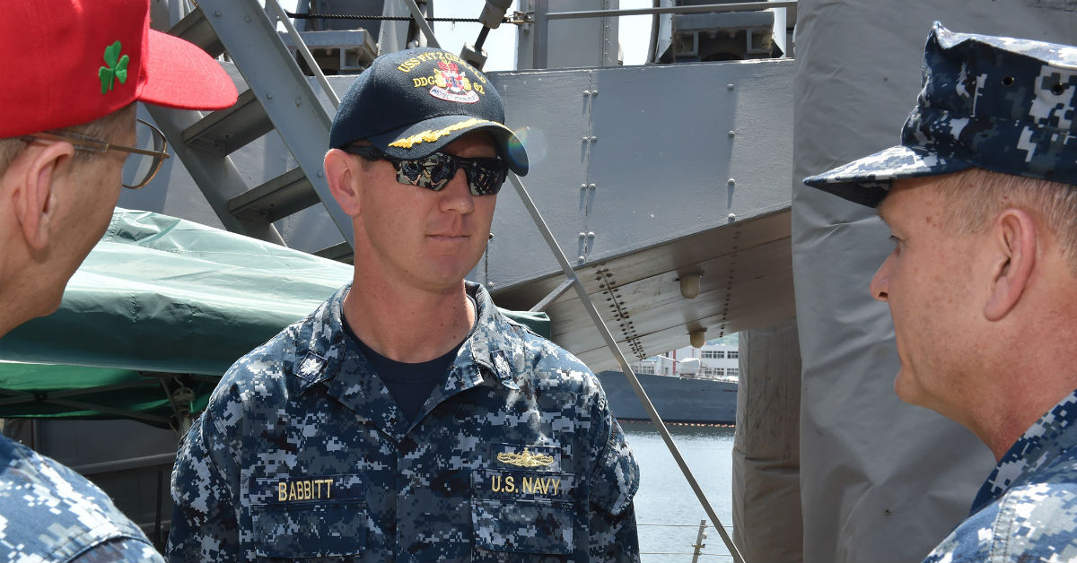Former Fitzgerald XO: Navy crew members battling PTSD after fatal collision