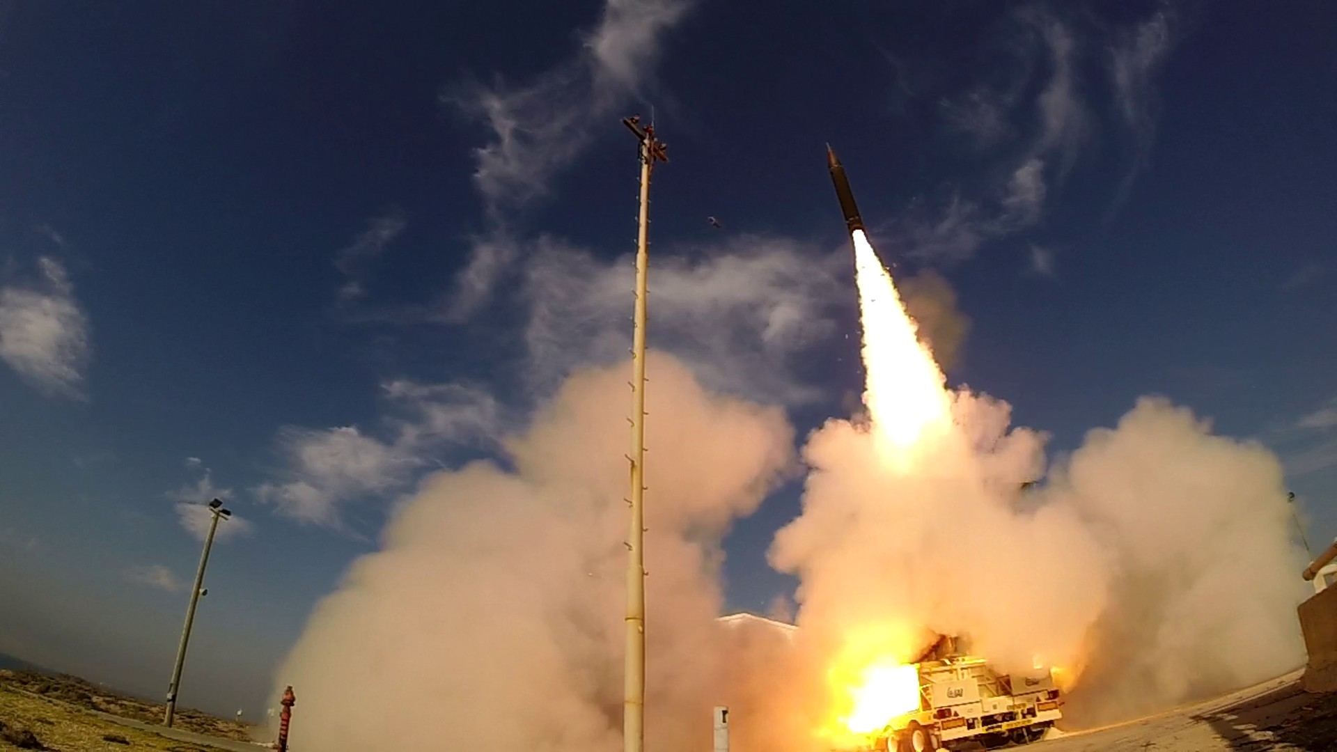 Target glitch prompts a 'no test' for US-Israel Arrow-3 missile interceptor