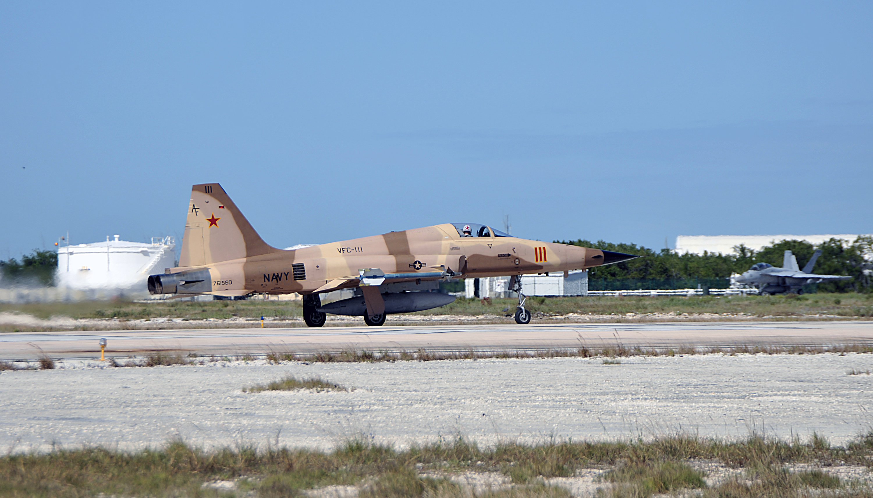 Navy fighter aircraft crashes near Key West