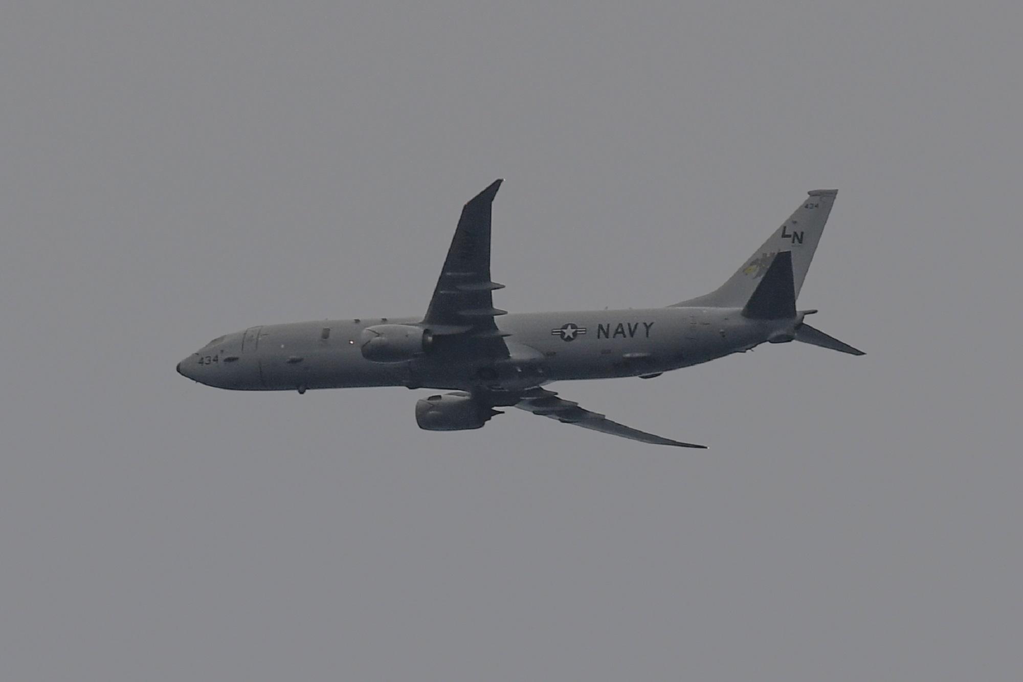 Russian jet buzzes Navy aircraft, causing 'violent turbulence'