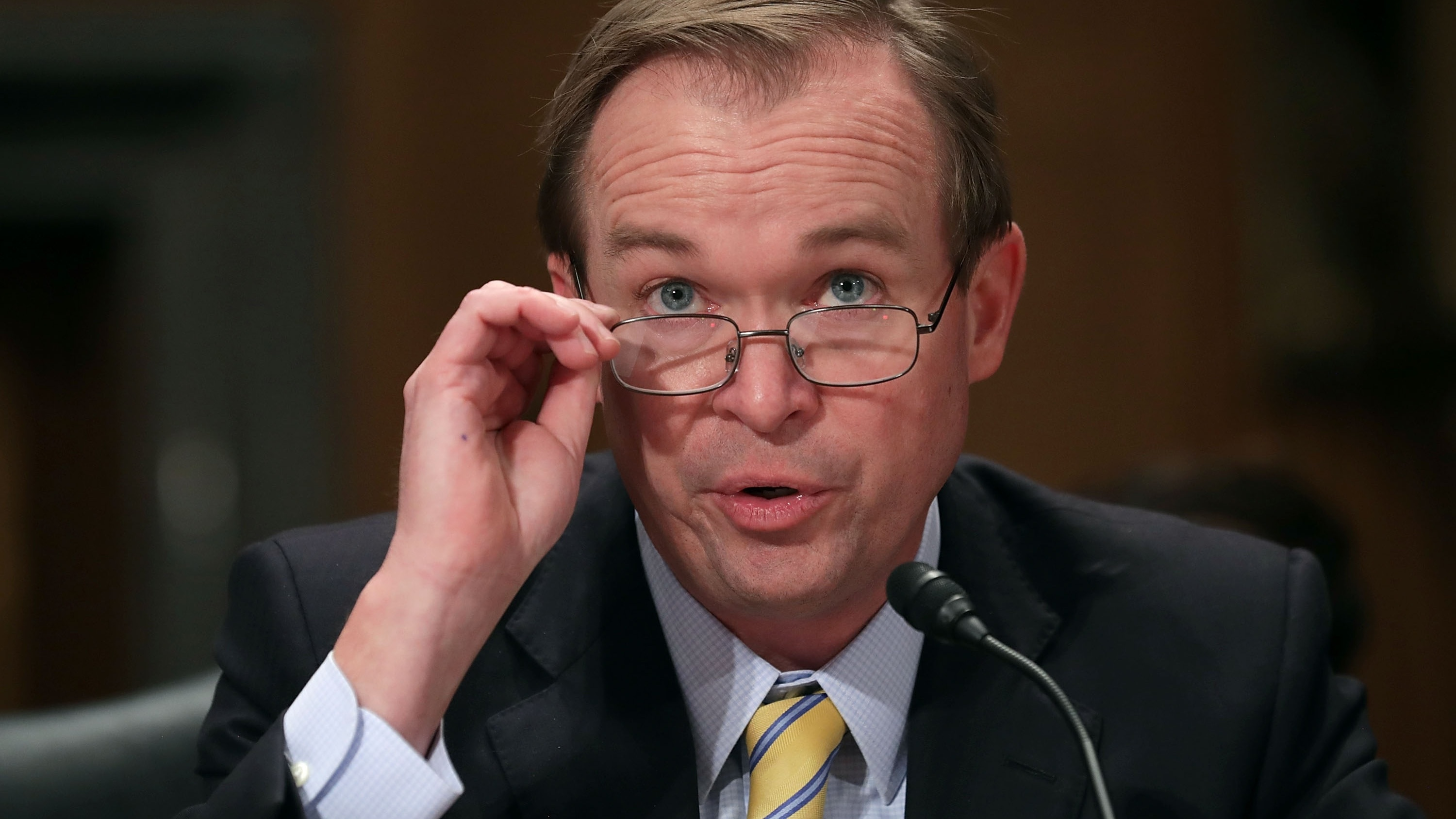 Mulvaney wants to reward 'good government employees' with reorg plan