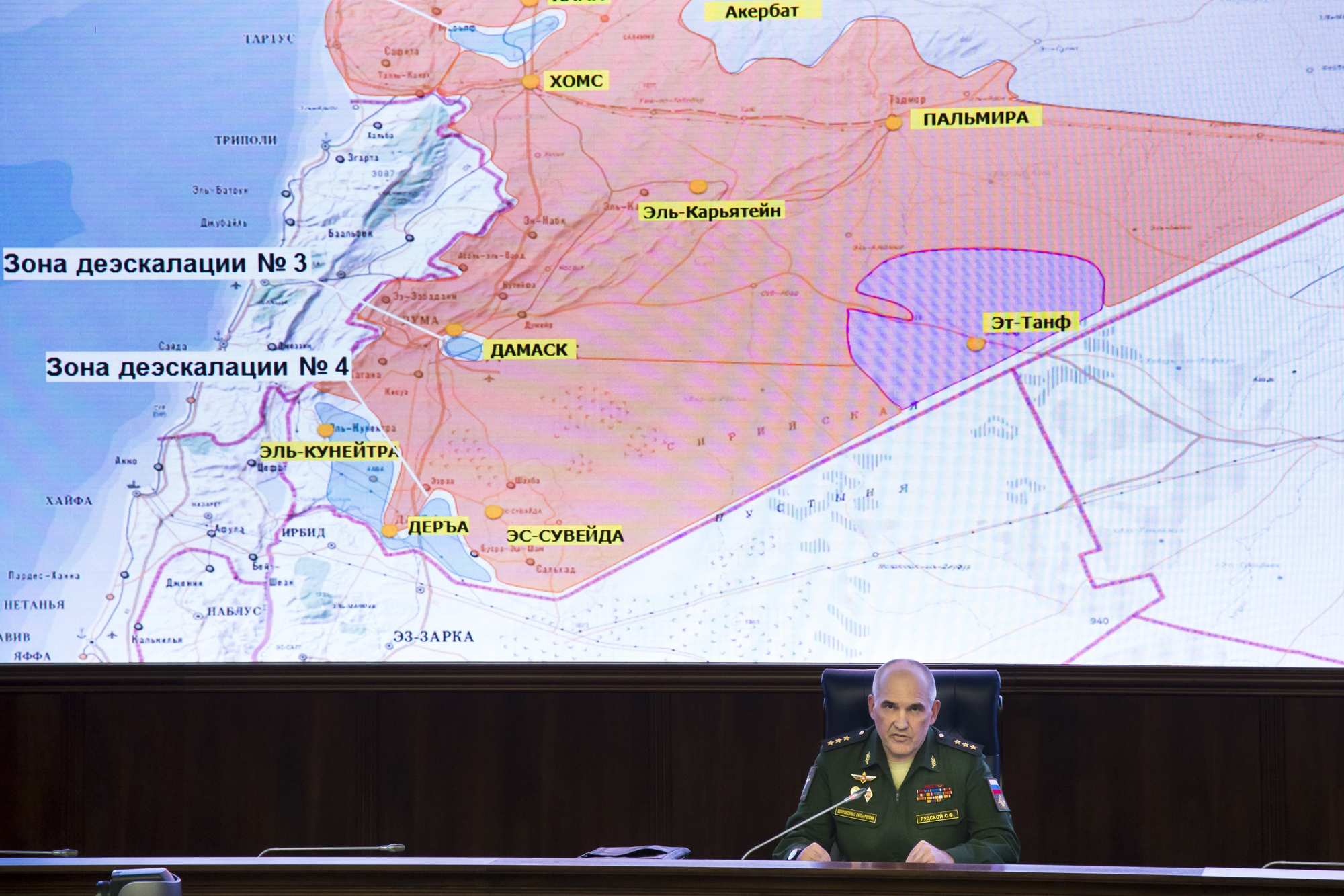 Russia Deploys Troops in Syrian Safe Zones as Monitors