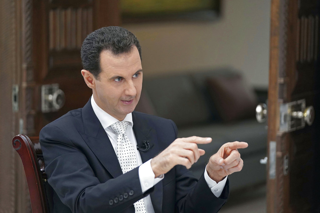Assad wants American troops out of Syria and threatens to attack region under US-backed Kurds