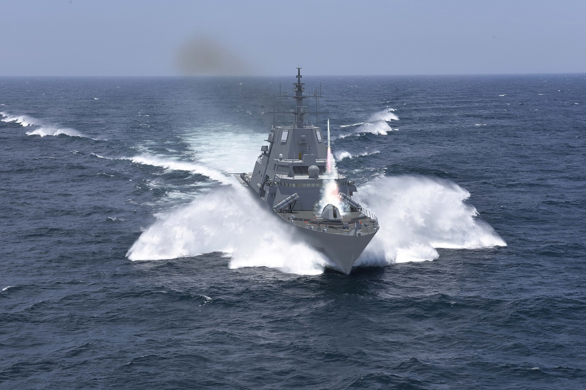 Navy awards design contracts for future frigate