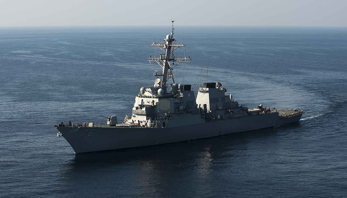 The US Navy just sailed through Chinese-claimed waters again