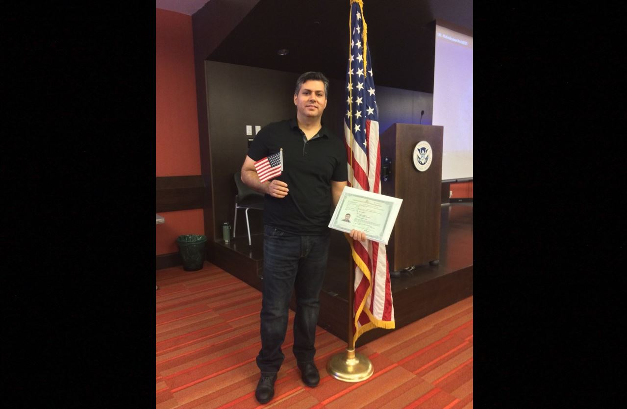 Iraqi interpreter earns US citizenship after being pulled from